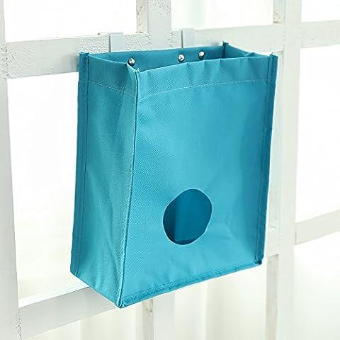 Hängende Aufbewahrung Organizer Tasche für Küche, Schlafzimmer, Bettchen, Damen und Herren Toilettenartikel, Spielzeug, Bücher (Set von 2)... Stil (Papier Bag System)