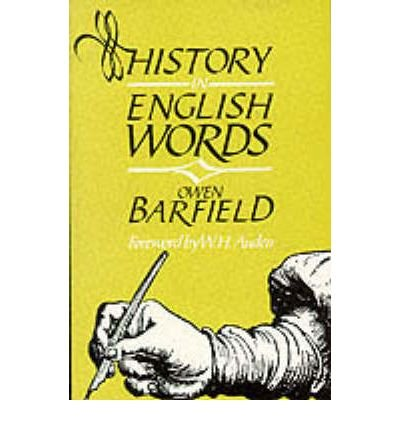 History in English Words by Barfield, Owen ( Author ) ON Apr-04-1998, Paperback