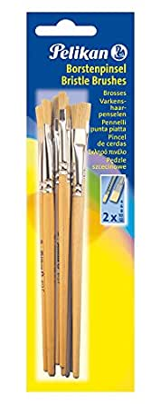 Pelikan 720409 Paintbrushes 613F 2 x 4 / 6 / 8 / 10 / 12