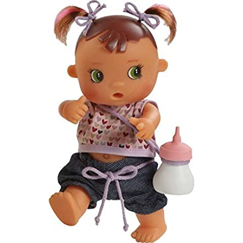 Paola Reina Los Bebes Go Potty Ada 8.6 Drink & Wet Doll (Made in Spain) by Paola Reina