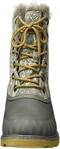 Roxy Ladies Himalaya Short Boots Grey (carboncino -chr)