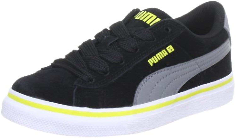 Puma Puma S Vulc Jr 350732 - Zapatillas de cuero para niños