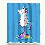 Caratteristica: eco-friendlyMateriale: poliestereStile: modernoModello: CartoonNumero di modello: bagno tenda doccia
