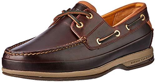 Sperry Top-Sider, Scarpe da barca uomo, Brown, 39.5 EU