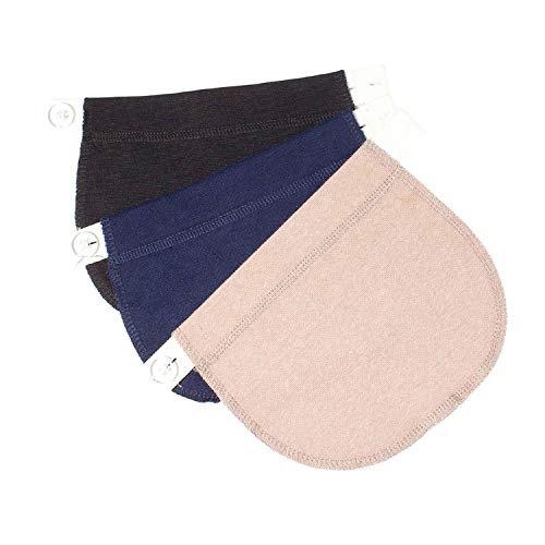 Yi Zhou Pregnant Women Belt Cotton Maternity Pants Buckle Extension Adjustable Comfort Girth