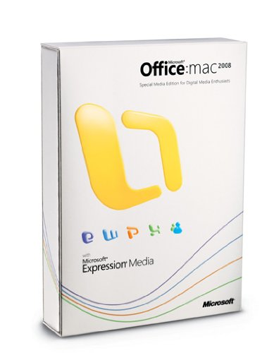 Microsoft Office Mac Media Edition 2008 (Office 2008)