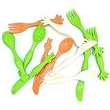 Ivarian Cutlery Set For Kids Spoon Fork Butter Knife Set Of 12 Pcs