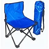 #4: Cpixen Small Folding Camping Chair, Portable Carry Bag For Storage And Travel/Outdoor Quad Beach Chair (Red)