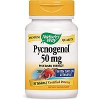 Nature's Way - Pycnogénol 50 mg - 30 Comprimés