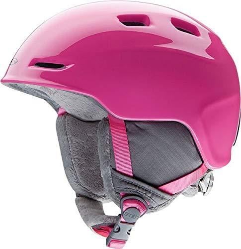 Smith Zoom JUNIOR Kinderskihelm pink S 48-53cm