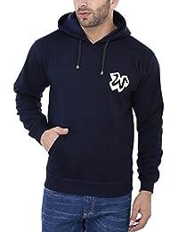 Weardo Blue Hooded Sweatshirt with 'W' print