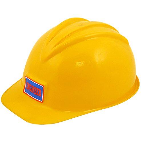 Trabajador de la construcción constructor Hard Hat Fancy Dress Accessory