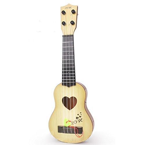 Zantec Juguetes Creativos, 4 Cuerdas Niños Simulación Jugable Ukelele Guitarra Instrumentos de Música Educativos Juguetes Regalos para principiantes