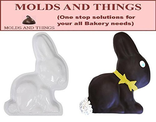 Easter Sitting Bunny Plastic Cake Pan by MOLDS AND THINGS Easter Bunny Cake Pan