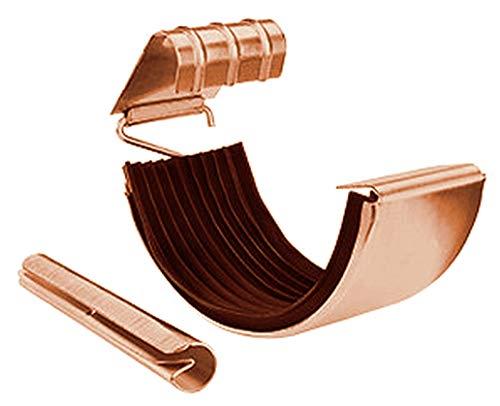 Gebraucht, Rinnenverbinder Kupfer für Dachrinnen in den Größen gebraucht kaufen  Wird an jeden Ort in Deutschland