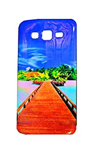 The Glam Life Best Protection Printed Back Cover For Samsung Galaxy Grand 2 ( Original Designer )
