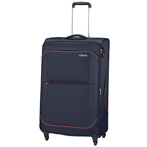 American Tourister - Sunbeam spinner 4 ruedas 55/20 equipaje de mano, azul (nordic blue), M (68,5cm-75L)