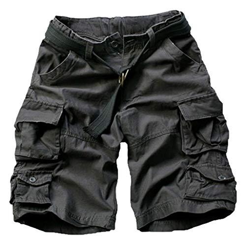 Taschen Overall Wind Overall Kurzschlüsse männer Fashion Camouflage Tooling Multi Pocket Shorts Casual Beach Pants Reine Farben S/M/L/XL/XXL/3xL