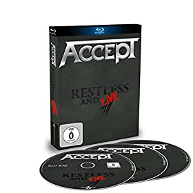 Accept - Restless And Live  (+ 2 CDs] [Blu-ray]