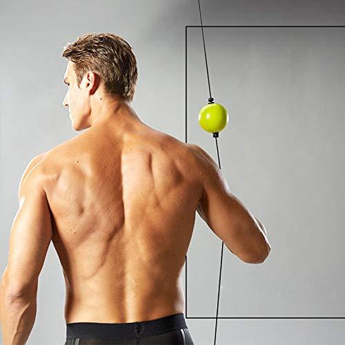 DIVAND Boxer Reflex Ball, Suspension Fight Ball Trainer, Home Gym Boxing Equipmente-für MMA-Training, Boxtraining, Speed Reactions