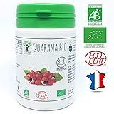 Guarana bio | 60 gélules | Complément alimentaire | Minceur - Brûleur de graisse | Bioptimal - nutrition naturelle | Fabriqué en France