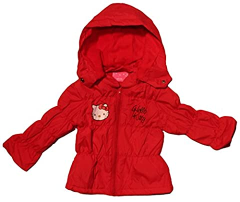 Helo Kitty - Blouson - Bébé (fille) - rouge -