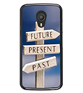 Life Direction Sign Board 2D Hard Polycarbonate Designer Back Case Cover for Meizu M2 Note :: Meizu Blue Charm Note2