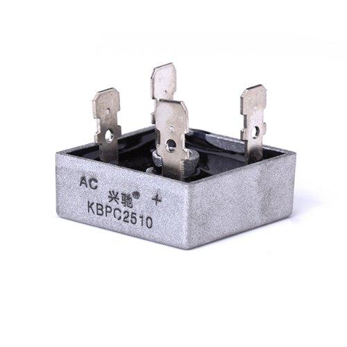 MagiDeal KBPC-2510 25A 1000V Pont Redresseur Pr Application Industrielle