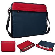 'Kroo Tablet/Maletín para portátiles con correa para el hombro para Acer Aspire S7–391 rojo rosso