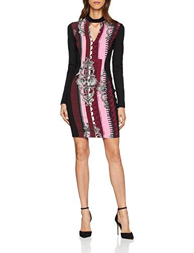 Versace Jeans Damen Kleid Lady Dress, Rot (Ciliegia E343), 36 (Herstellergröße: 42)