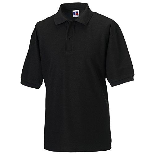 Jerzees Colours 65/35 Hard Wearing Pique Polo Shirt für Männer (4XL) (Schwarz) -