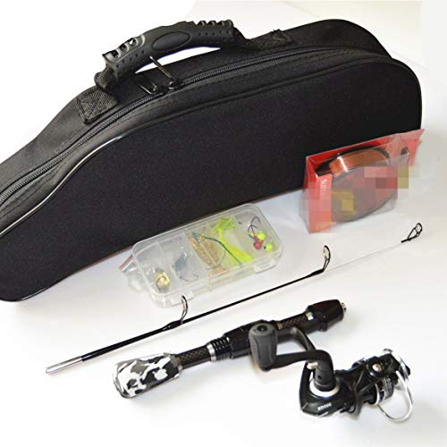 Banbie Ice Fishing Kit Mit Eisangelrute Ice Fishing Line Bait Ice Fishing Kit