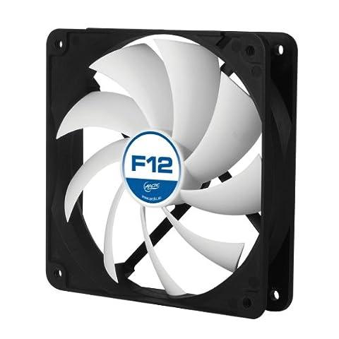 ARCTIC F12 - Extrem leiser 120 mm Hochleistungs-Gehäuselüfter mit Standard-Gehäuse,