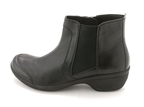 Easy Spirit Brenley Femmes Cuir Botte Black Mu