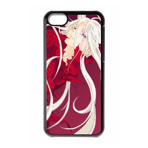 Deadman Wonderland coque iPhone 5C Housse téléphone Noir de couverture de cas coque EBDXJKNBO12868