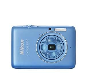 Appareil photo numérique Nikon Coolpix S02 bleu - 13.2 MPix
