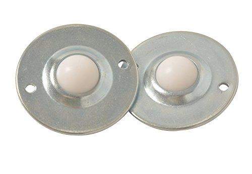 e-meoly Set von 6Stück 2,5cm Nylon Kugellager Transfer Einheit Tisch BAFA Roller Ball für die Übermittlung, Möbel, Rollstuhl