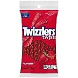 Twizzlers Twists Strawberry Licorice Candy - 7oz