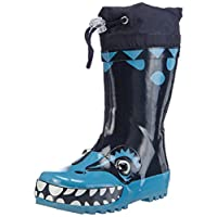 Playshoes Boys Wellies, Wellington Boots Dino