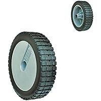8 Inch 22 cm diámetro rueda de goma para Weeder cortador de hierba Cortacésped ...