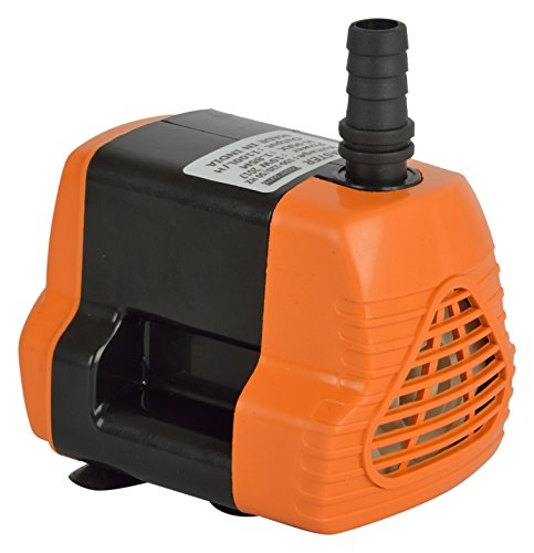 Globus/Pelto Submersible Water Pump (Black/White /Orange/Blue) for Desert Air Cooler/ Aquarium /Fountains