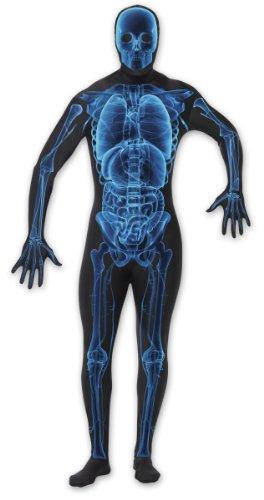 X-Ray Kostüm aus 80% Polyester und 20% Elasthan,N