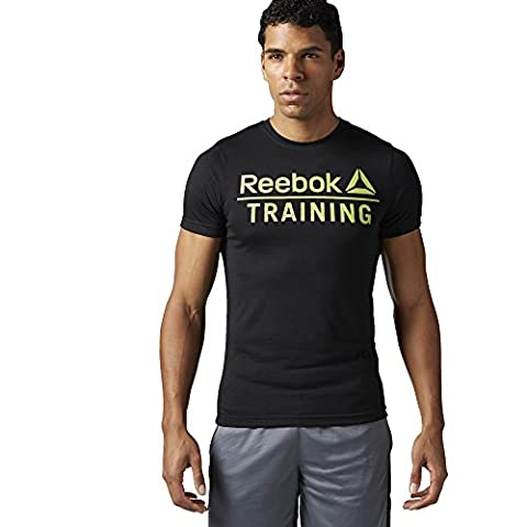 Reebok Men's Training Speedwick T-Shirt - Dark Grey Heather, 2X-Large