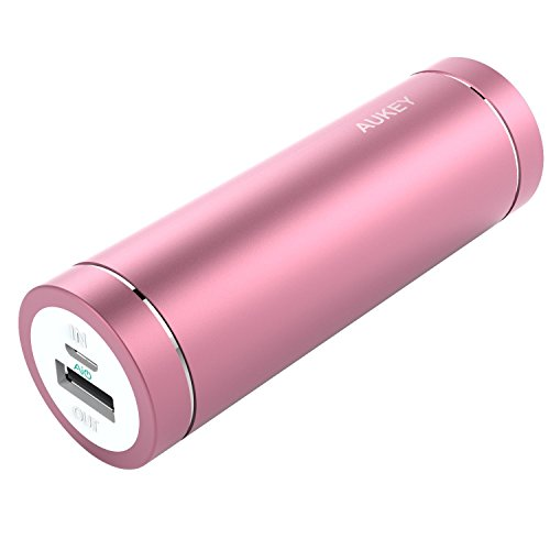 Aukey-PB-N37-Mini-cargador-porttil-de-5000-mAh-color-rosa
