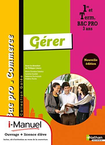 Gérer 1re/Tle Bac Pro Commerce