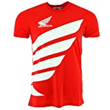 Honda HRC Moto GP Team Large Logo rot T-shirt Offiziell 2017