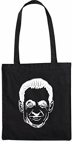 Mister Merchandise Tote Bag Sarkozy Borsa Bagaglio , Colore: Nero Nero