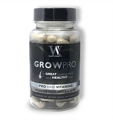 Best Hair Vitamins – GrowPro – Hair Growth Supplements with nail strengthener formula for longer stronger nails
