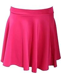 PILOT® Women's Scuba Skater Skirt in Pink Cerise