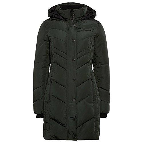 TOM TAILOR Damen Mantel Cold Day Coat dark fir green